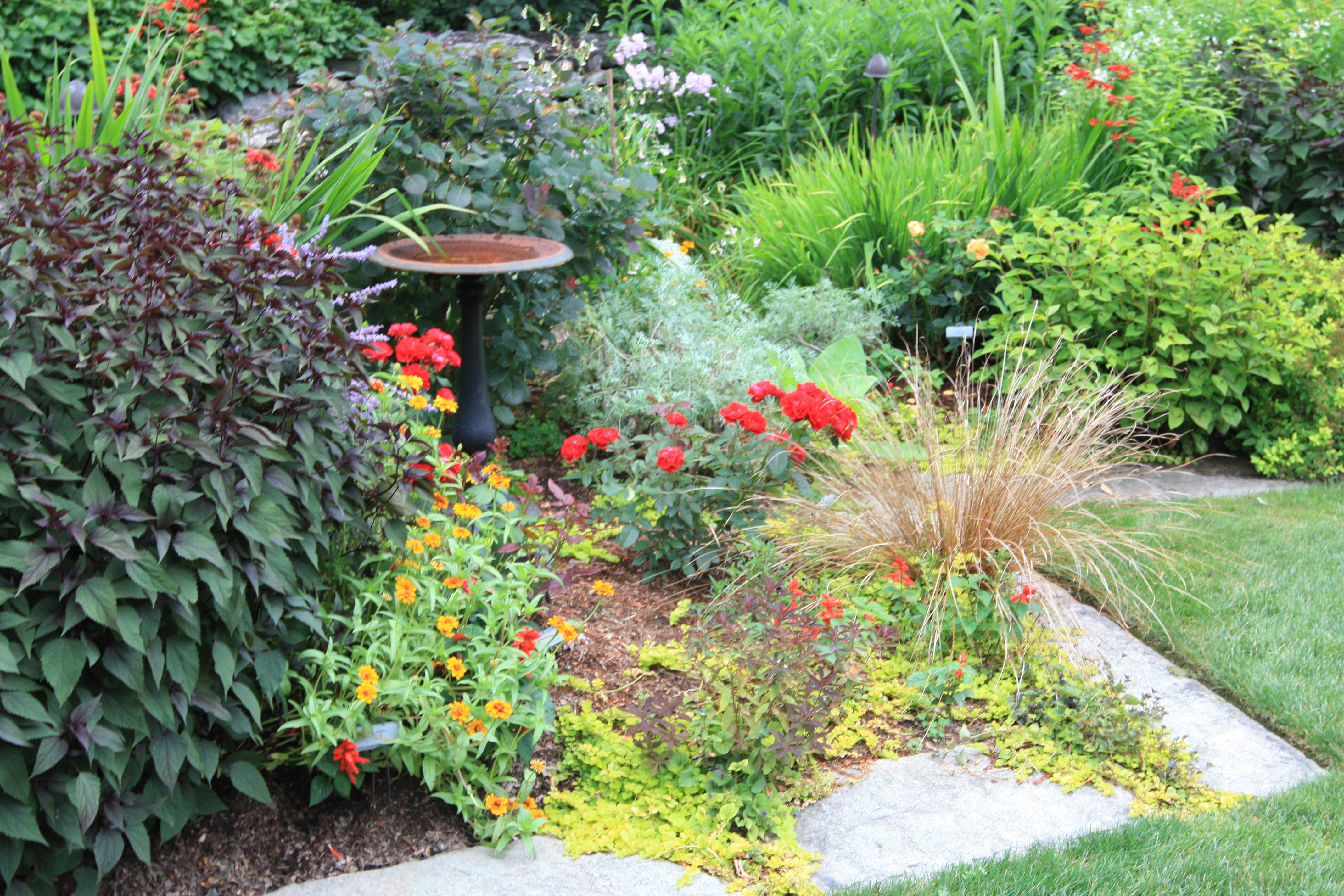Tranquil lake nursery for Tranquil garden designs